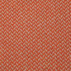 Belfast Sand Recycled Cotton & RPET, Red Natural Herringbone