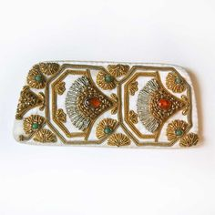 50s Eyeglass Case / Beaded Eyeglass Case / Vintage. $30.00, via Etsy. Definitely would make a cool clutch
