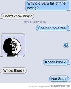 LOL So wrong!