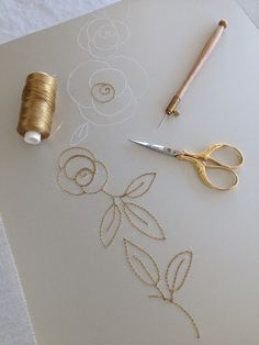 Haute couture embroidery by Mooshi - Handmade with Love.