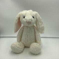 "Manhattan Toy Cream Ivory Bunny Rabbit Plush Soft Toy 14"" Stuffed 2016 Stuffed #ManhattanToy"