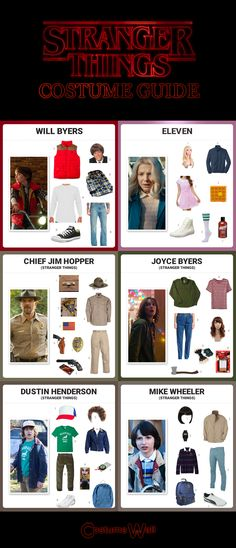 Dress up like all the characters from the popular sci-fi show, Stranger Things. See how you can cosplay all the characters from the mysterious little town of Hawkins, Indiana.