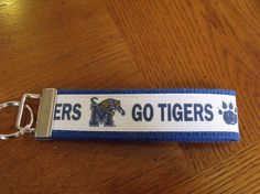 College Key Fob Keychain by cocoandsable on Etsy, $6.00