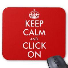 Custom Keep Calm Mousepad