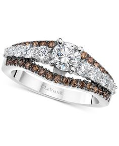 Le Vian Engagement Ring (1-1/2 ct. t.w.) in 14k White Gold
