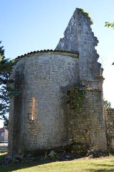 Ancien prieuré Saint-Sylvestre te Saint-Sauveur (Charente 16)