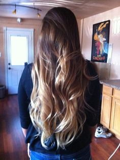 blond ombre hair Im in love with her hair!!