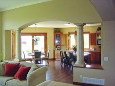 4 Warm Clever Tips: Small Living Room Remodel Half Walls living room remodel ideas interiors.Living Room Remodel Before And After Benjamin Moore livingroom remodel modern farmhouse.Living Room Remodel With Fireplace Products. Ranch House Plans, Best House Plans, Basement Renovations, Home Remodeling, Ranch Style Homes, Living Room Remodel, Open Floor, Benjamin Moore, New Homes