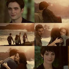 and the last day of Forever Jacob And Renesmee, Twilight Renesmee, Jacob Black Twilight, Robert Pattinson Twilight, Mackenzie Foy, Breaking Dawn Part 2, Twilight Pictures, Twilight Series, Taylor Lautner