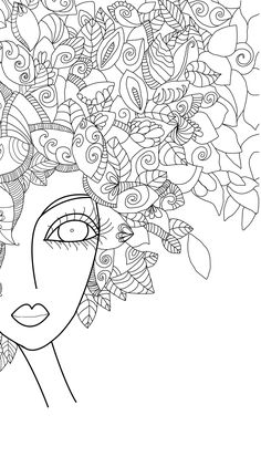 In process after a painting by Romy Lerda – Realizations – … - Malen Adult Coloring Pages, Pattern Coloring Pages, Colouring Pages, Coloring Books, Doodle Patterns, Zentangle Patterns, Art Fantaisiste, Whimsical Art, Fabric Painting