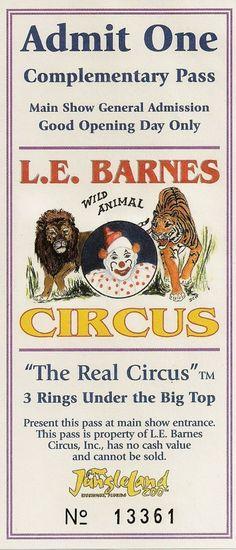 L.E.Barnes Circus
