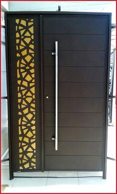 Front Gate Design, Door Gate Design, Room Door Design, Door Design Interior, Wooden Main Door Design, Double Door Design, Compound Wall Design, Porte Design, Steel Doors And Windows