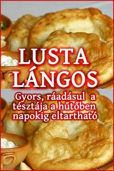 Appetizer Recipes, Snack Recipes, Dessert Recipes, Cooking Recipes, Cooking Eggs, Salt Block Cooking, Good Food, Yummy Food, Hungarian Recipes