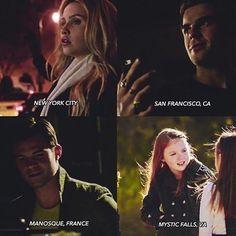 """#TheOriginals 4x13 """"The Feast of All Sinners"""" - Rebekah, Kol, Elijah and Hope"""