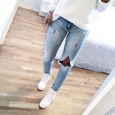 shoes timberland blanche white style cute white timberlands jeans
