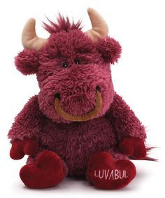 Another great find on #zulily! Luvabull Plush Toy #zulilyfinds