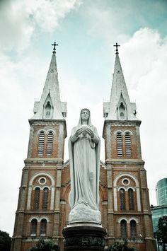 Notre Dame Catholic Cathedral, Ho Chi Minh City, Vietnam