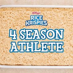 Gather the team and game on! These sporty, easy-to-make Rice Krispies Treats are the winning play for any little athlete. Just grab a tray of homemade treats and a mug, add frosting to suit the season, and start tallying points on the scoreboard! Rice Crispy Treats, Krispie Treats, Rice Krispies, Yummy Snacks, Delicious Desserts, Dessert Recipes, Yummy Food, Video Games For Kids, Kids Videos