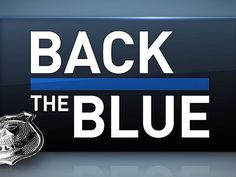 back the blue police - Google Search