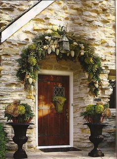 A Whole Bunch Of Christmas Porch DecoratingIdeas - Christmas Decorating -