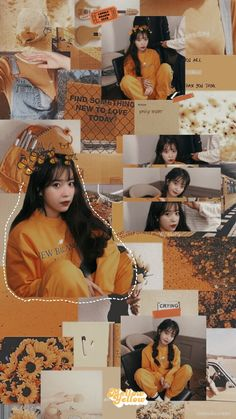 IU wallpaper made by on whi Lisa Blackpink Wallpaper, Sailor Moon Wallpaper, Wallpaper Space, Ullzang Girls, Kpop Girls, Aesthetic Pastel Wallpaper, Aesthetic Wallpapers, Korean Best Friends, Hyuna