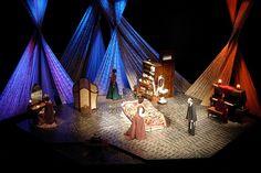 INTIMATE APPAREL. Indiana Repertory Theatre. Scenic Design: Tony Cisek. 2006