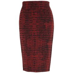 Melissa Mccarthy Seven7 Plus Ponte Pencil Skirt ($59) ❤ liked on Polyvore featuring plus size women's fashion, plus size clothing, plus size skirts, skirts, cowhide, plus size, patterned skirts, pull on pencil skirt, red print skirt and ponte-knit skirts