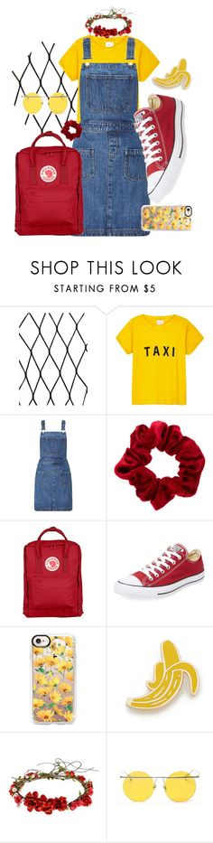 """Untitled #4"" by el011 ❤ liked on Polyvore featuring Compañia Fantastica, Miss Selfridge, Fjällräven, Converse, Casetify, Georgia Perry and LMNT"