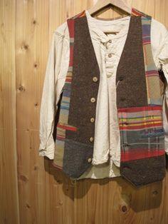 Patchwork vest - Gypsy & sons