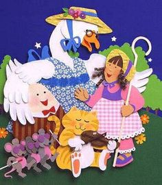 Nursery Rhyme Printable Mini Books.  The State Library of Louisiana presents 24 one-page mini printable nursery rhyme books that children can color and keep. Directions for folding the mini books and tips for sharing them with children.