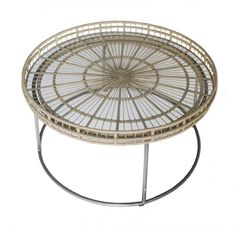 Monteray Round Coffee Table Natural
