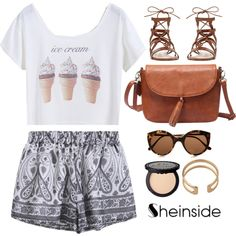 SHEINSIDE 9 by monmondefou on Polyvore featuring moda, Gianvito Rossi, Illesteva and vintage