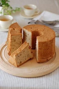 ロイヤルミルクティー・シフォンケーキ