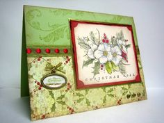 Rose Flourish by gotta_stamp - Cards and Paper Crafts at Splitcoaststampers