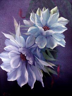 Flowers by Bob Ross