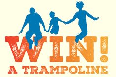 Enter to WIN an 8ft trampoline with safety net!