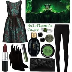 """Maleficent: Maleficent's Curse"" by cristianoronaldostar on Polyvore"