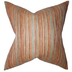 Bartram Stripes Pillow Orange