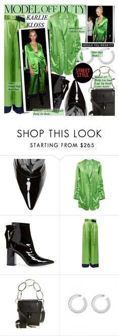 """""""Get the look: Karlie Kloss"""" by merrygorounds ❤ liked on Polyvore featuring Robert Clergerie, Adam Selman, 3.1 Phillip Lim, GetTheLook, CelebrityStyle, polyvoreeditorial and modeloffduty"""