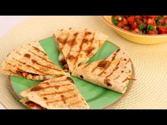 Chicken Quesadilla Recipe - Laura Vitale - Laura in the Kitchen Episode 542 - YouTube