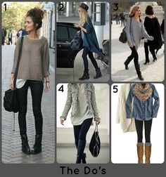Suburb Chic Blog: The Do's & Dont's of Boots + Leggings