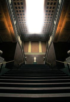 The British Museum, interesting staircase symmetry