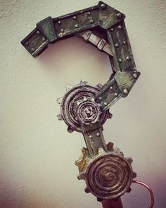 #steampunk #3dprinted #riddler #cane  #canetopper #batman #cosplay #cosplayprop #costume