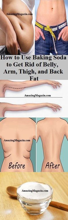 How to Use Baking Soda to Get Rid of Belly, Arm, Thigh, and Back Fat
