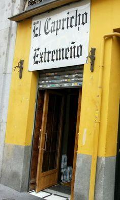"""El Capricho Extrameño, great """"menu del dia"""" for 9€, Calle de Toledo, 21!"""