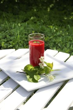 Delicious Strawberry Smoothie