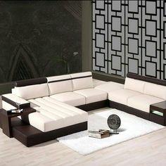 Ideas For Modular Furniture Sofa Inspiration Sofa Set Designs, Modern Sofa Designs, Living Room Sofa Design, Living Room Sets, Living Room Decor, Dining Room, Sofa Furniture, Luxury Furniture, Furniture Design