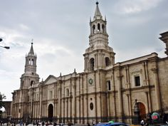 Jour 9 : Arequipa, Basílica Catedral de Arequipa