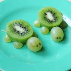 Great way to get your young children to eat their fruits.