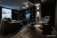 Modern home interior on Behance